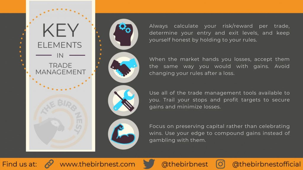 Key Elements in Trade Management