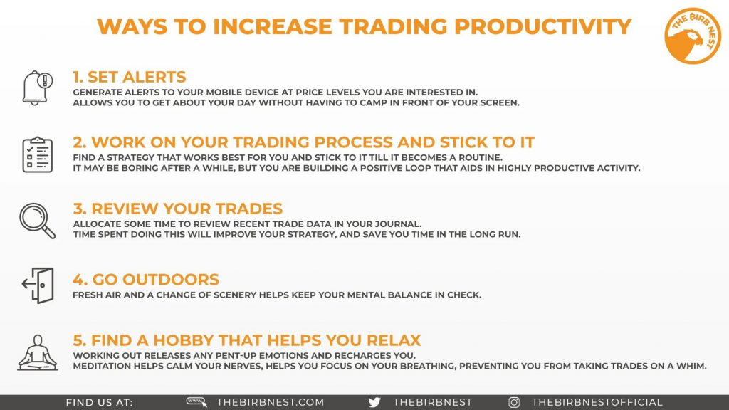 Ways to Increase Trading Productivity