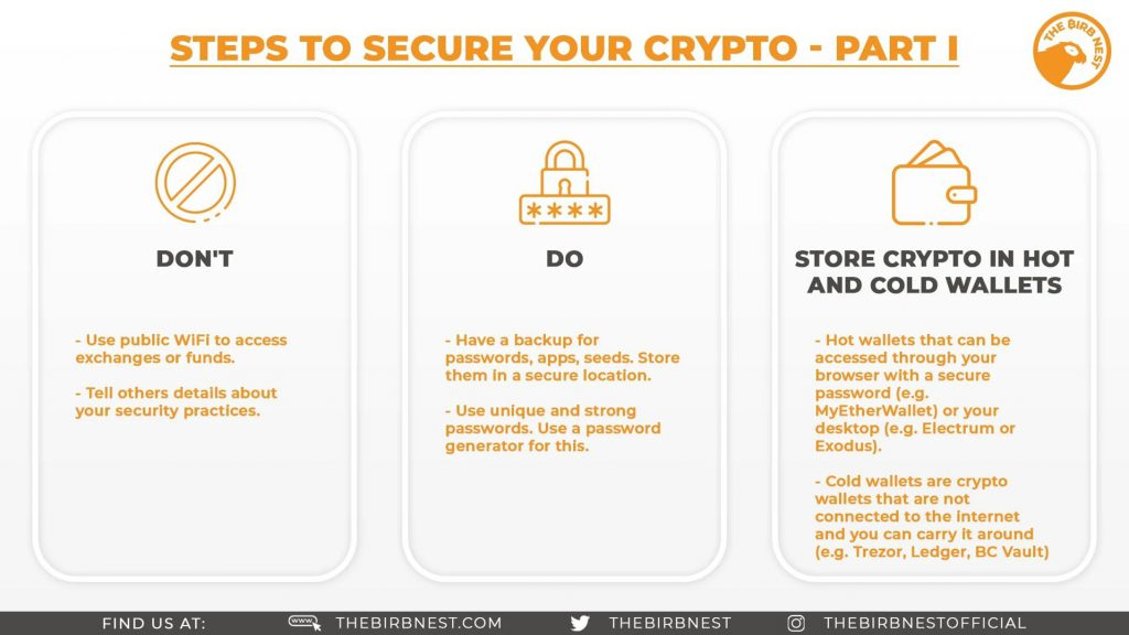 Securing Your Crypto - Part 1